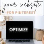 Otpimize website for Pinterest pin
