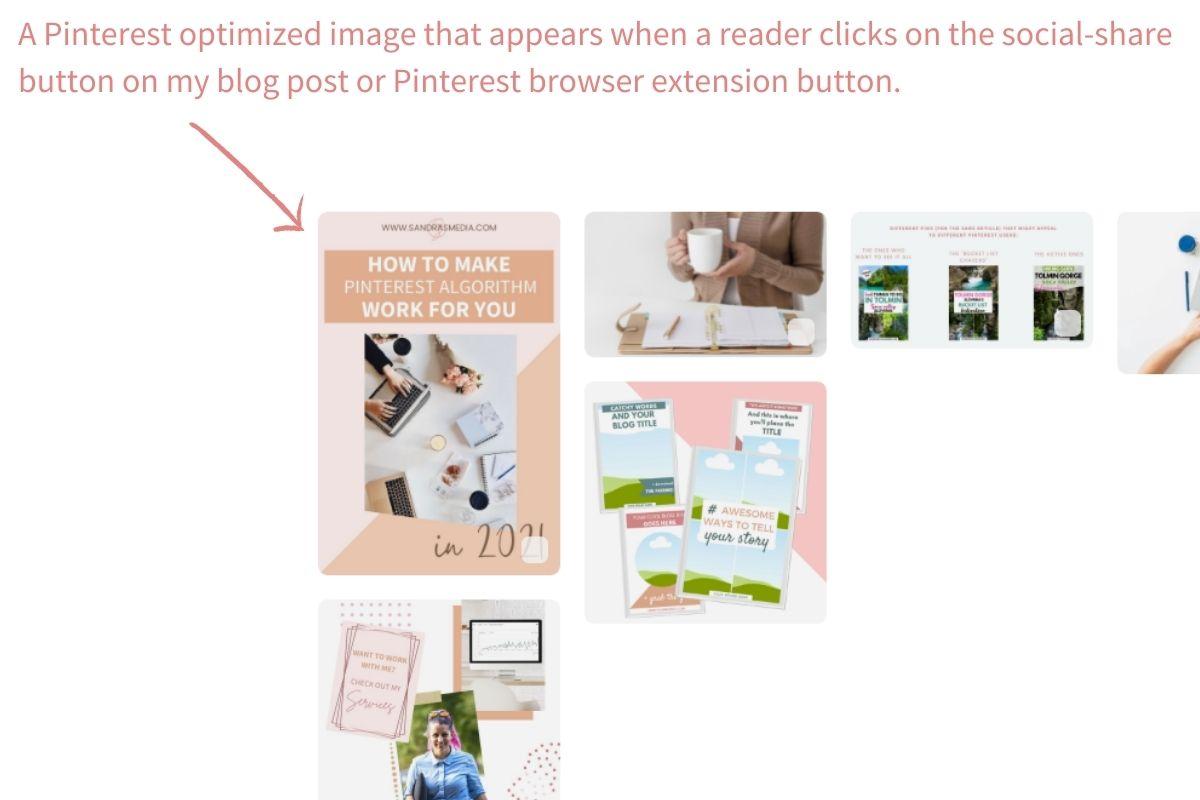 Pinterest optimized image