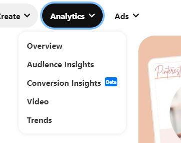 Pinterest trends inside Pinterest analytics
