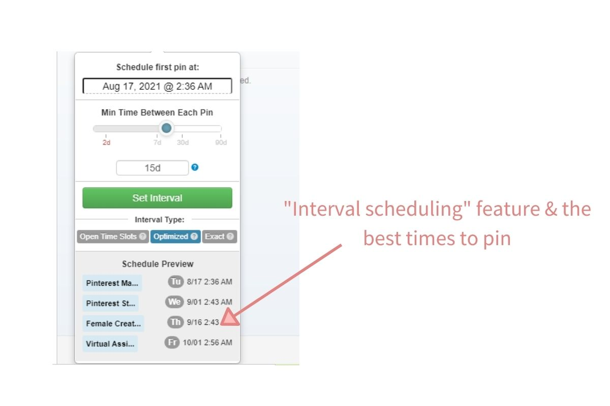 Tailwind as a Pinterest scheduling tool